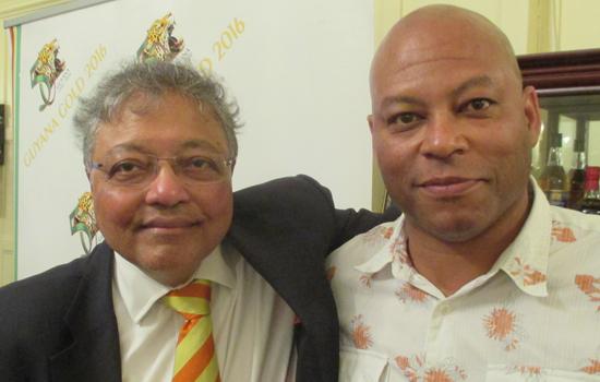 Mihir Bose and Colin Babb