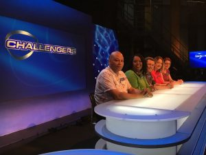 Colin and the Seamers team on Eggheads
