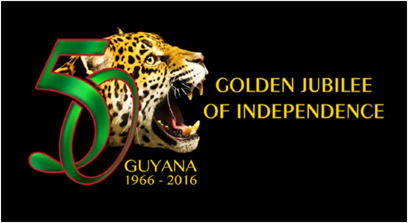 Guyana 50 years of Independence logo